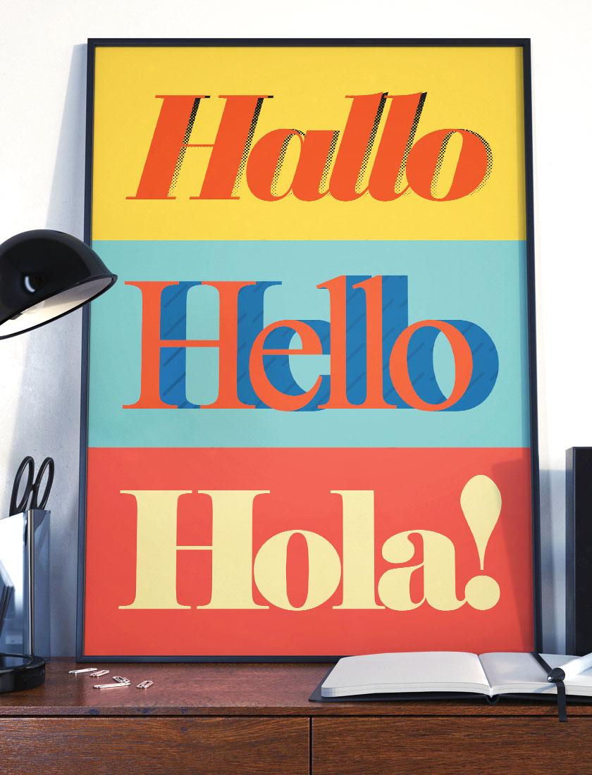 poster-hola-design barcelona anthrfmrt